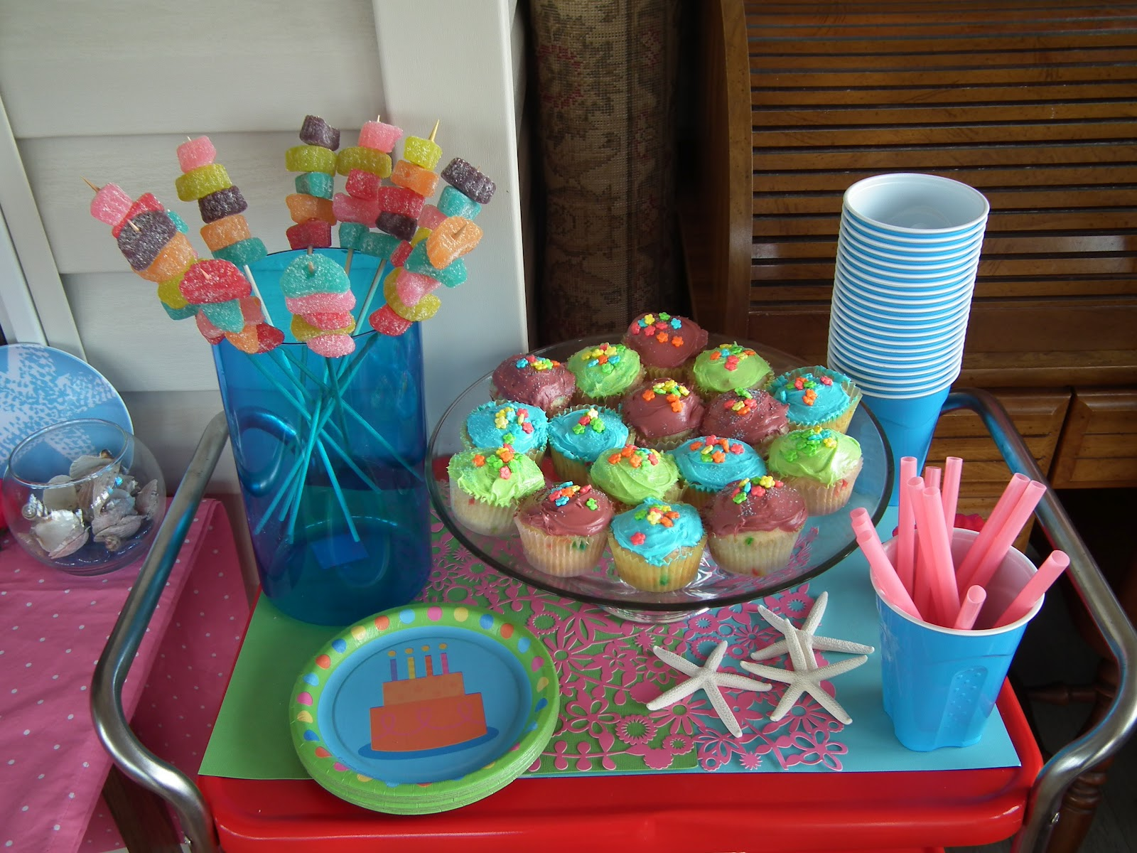 Meaningful Nest Beach Birthday Party