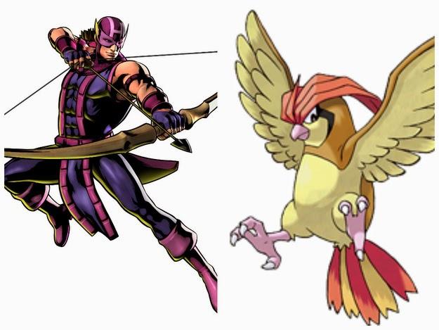 Hawkeye - Pidgeotto