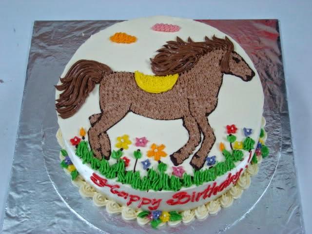 hình con Ngựa ~ Bánh sinh nhật - Mẫu bánh sinh nhật 2014