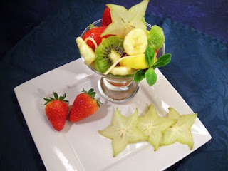 Salade de fruits au gingembre
