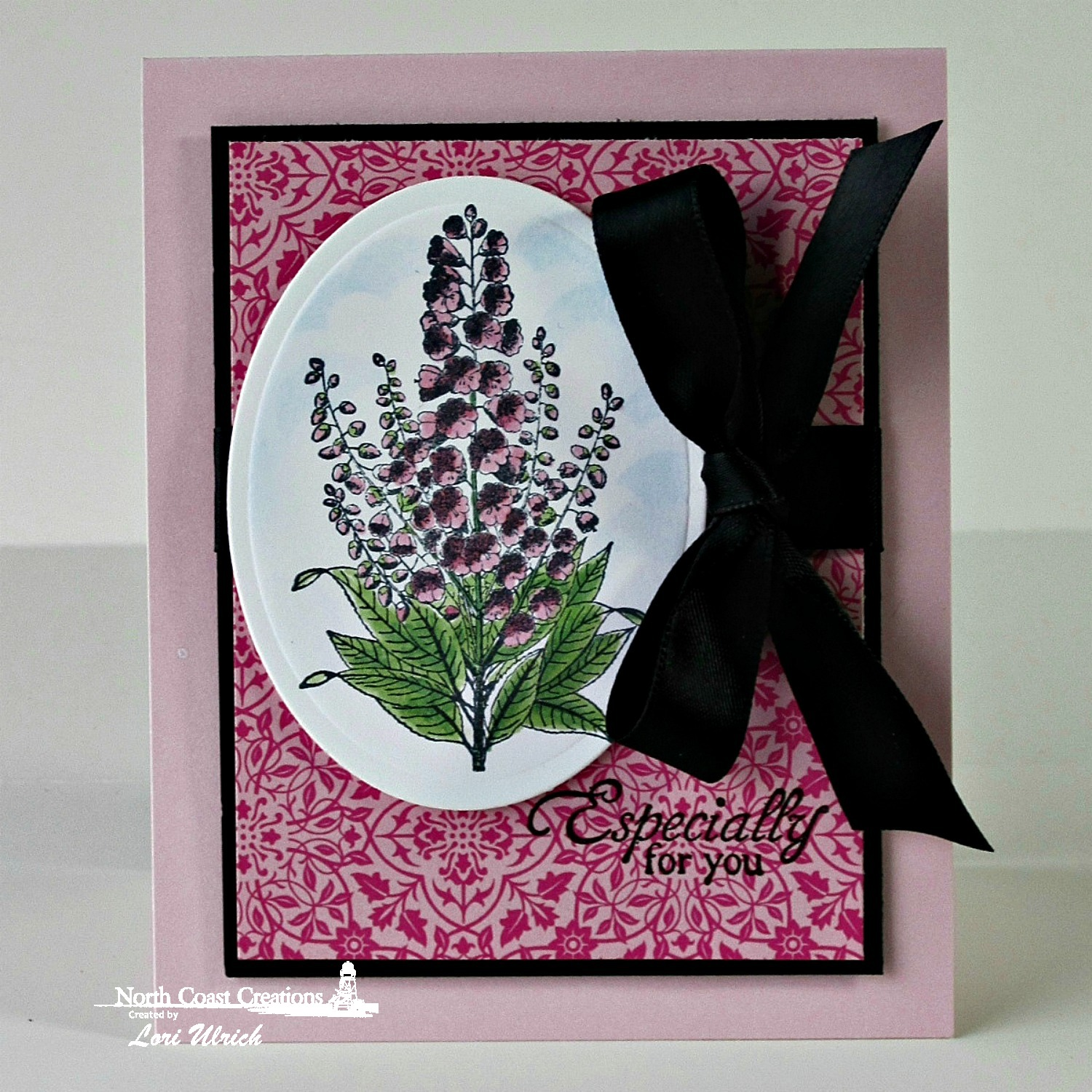 Stamps - North Coast Creations Floral Sentiments 5