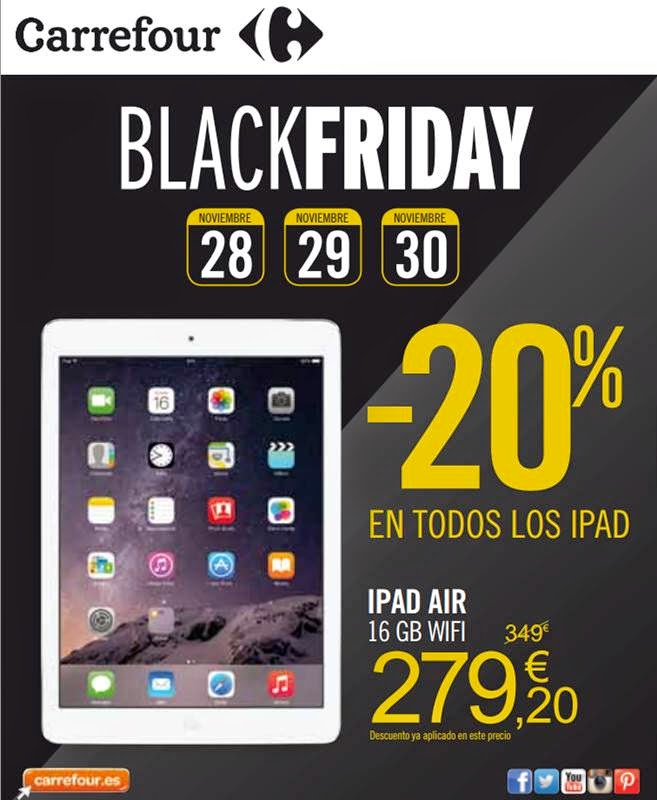 Ofertas Black Friday 2014 Carrefour