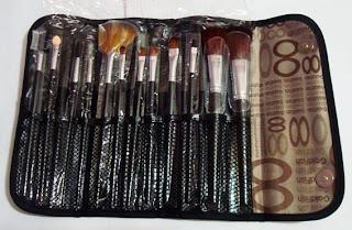 kit pinceis maquiagem 12 peças