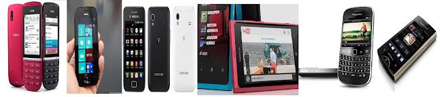 handphone terlaris 2012