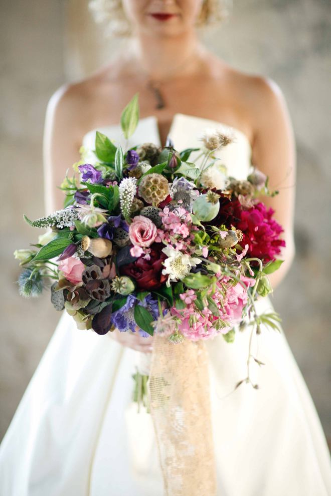 Growing Flowers For An October Wedding : Stunning wedding bouquets part belle the magazine