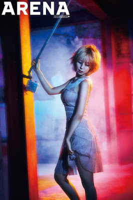 Choa AOA Ace of Angels - Arena Homme Plus Magazine June Issue 2015