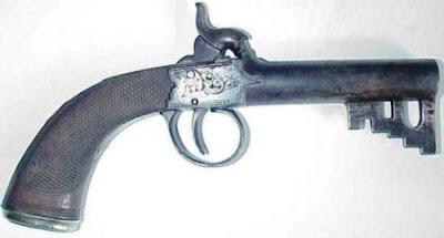مسدسات على شكل مفاتيح صغيرة-منتهى