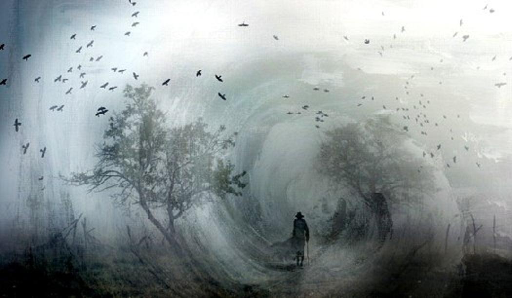 Do homem, na esparsa ventania, apenas permanece de si a poesia...