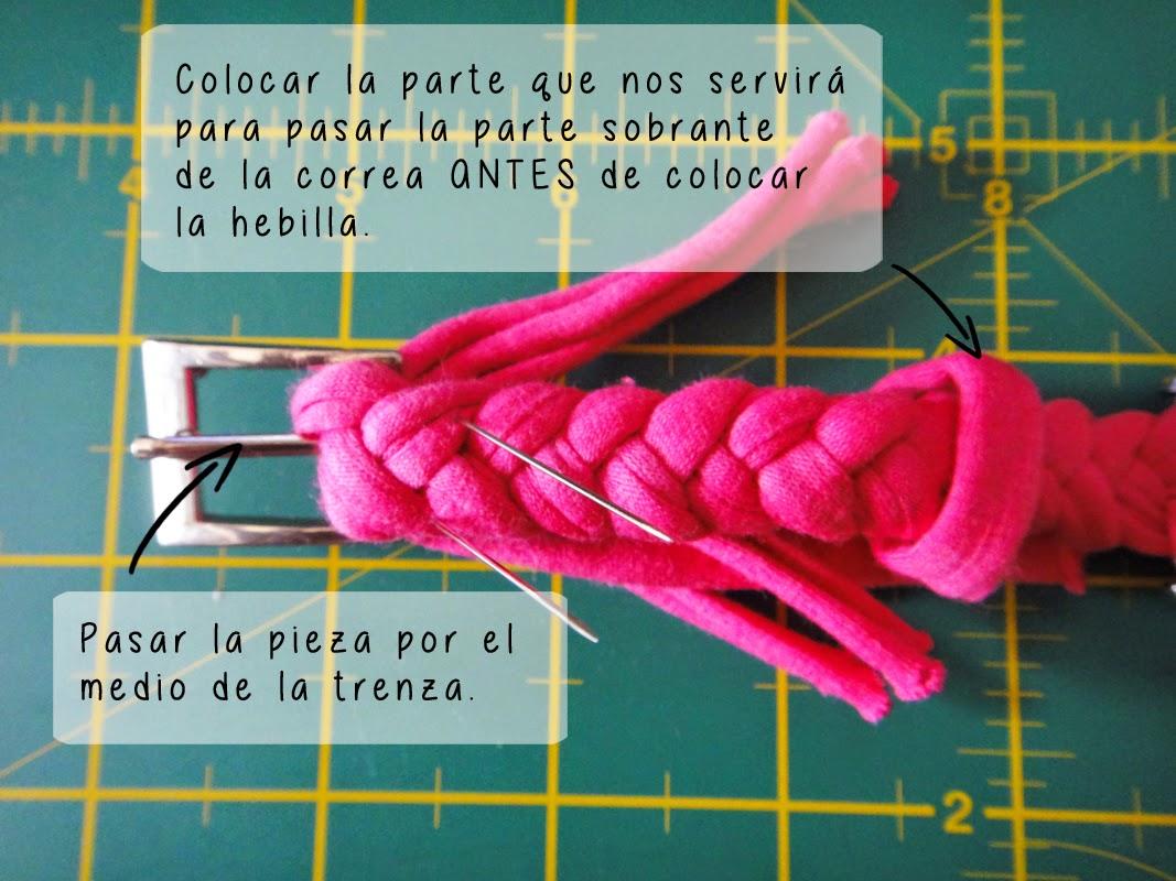 DIY- Correa de reloj - Paso 4