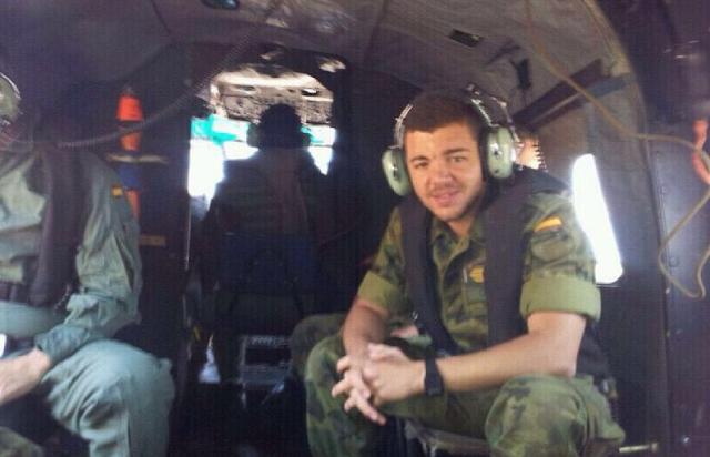 Jhonander Ojeda, Un militar  canario y dos accidentes de helicóptero