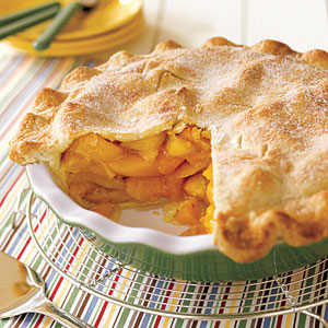 ... in the Life, and in the Kitchen, with Althea: Country Fresh Peach Pie