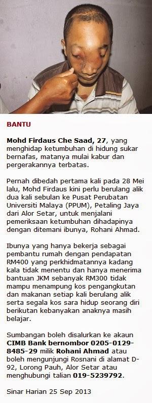 Bantu Mohd Firdaus