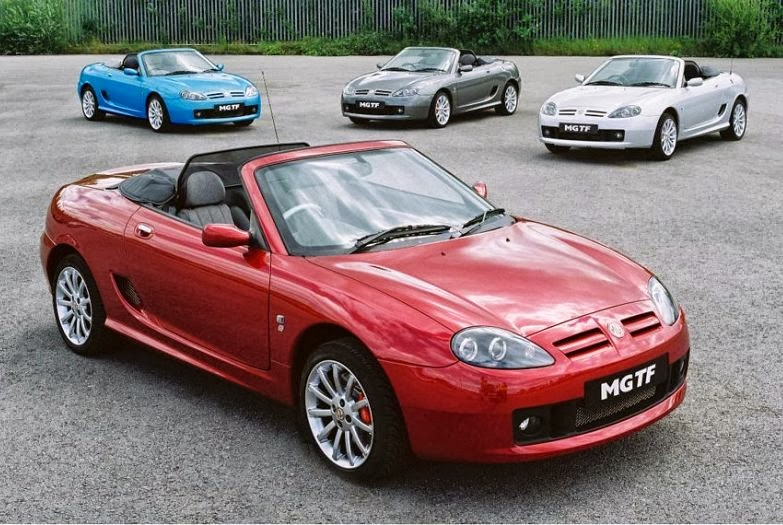 mg car 2013 back - photo #14