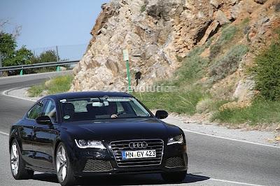 Audi RS7 : Spyshots