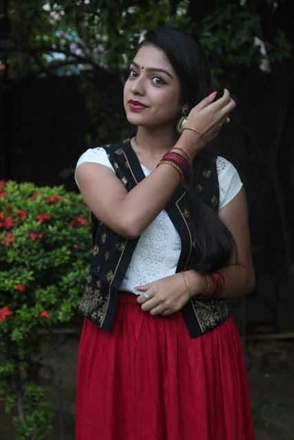 Beautiful Varsha Latest Photos In Sathuran Movie Audio Launch