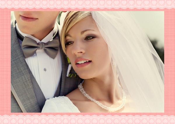 Wedding Wednesday Pink and Grey