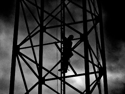 Climber on the Tower
