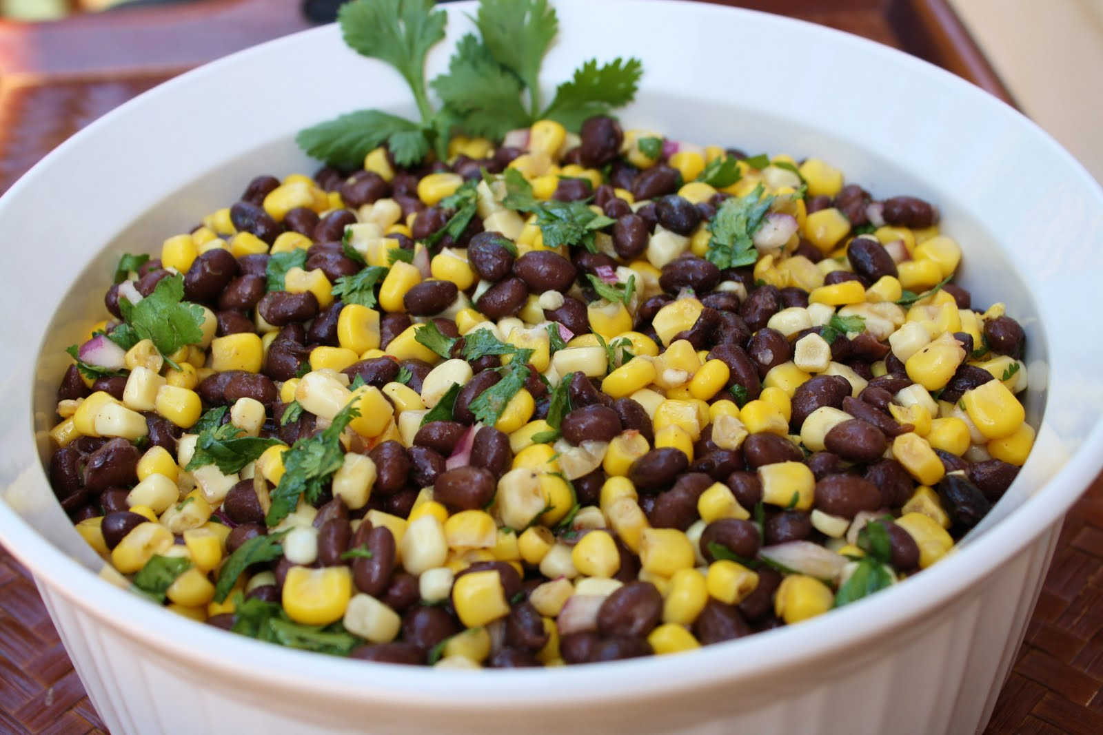 Black Bean Salad Recipe — Dishmaps