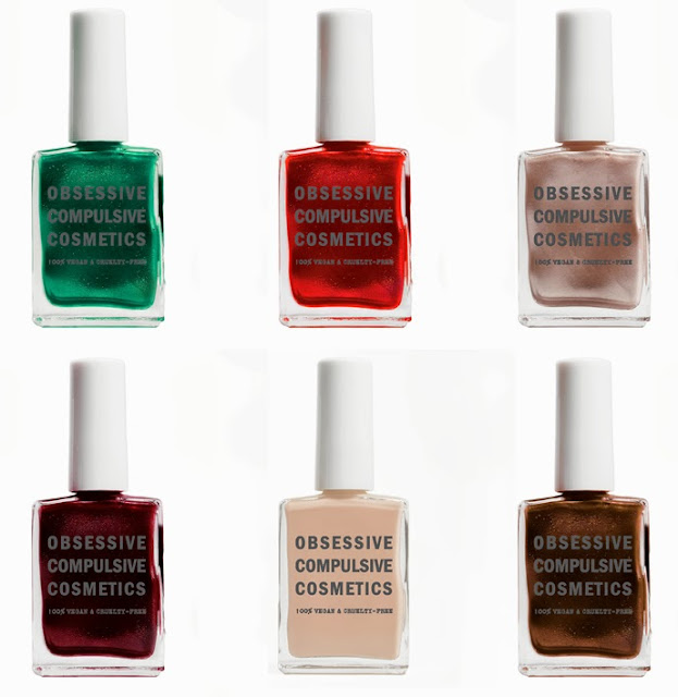 Obsessive Compulsive Cosmetics new product nail lacquers occ makeup