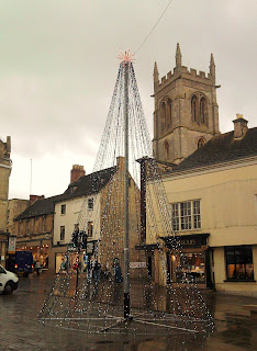 Christmas tree of lights stamford