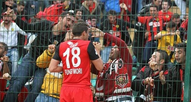Funes Mori marcó su primer gol en liga