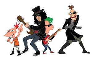 Slash Phineas e Ferb – Viaggio nella seconda dimensione