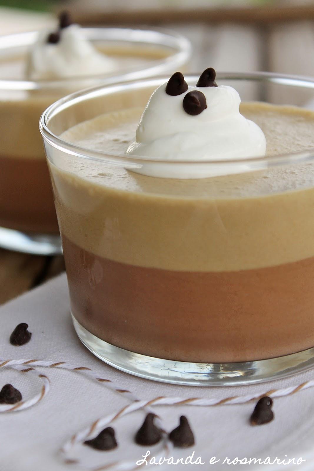 Lavanda e rosmarino bavarese al caff e cioccolato - Bagno di cioccolato ...