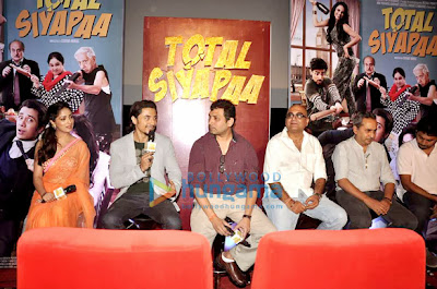 Yaami Gautam & Ali Zafar @ Trailer launch of 'Total Siyapaa'