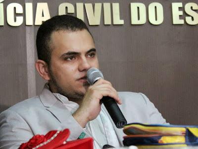 Andrei Alvarenga se diz tranquilo como delegado de Elesbão Veloso e assegura que todas as ações para elucidar crimes estão sendo feitas.