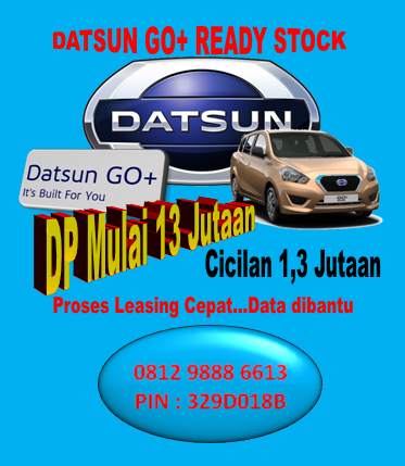 DATSUN GO+ READY STOCK