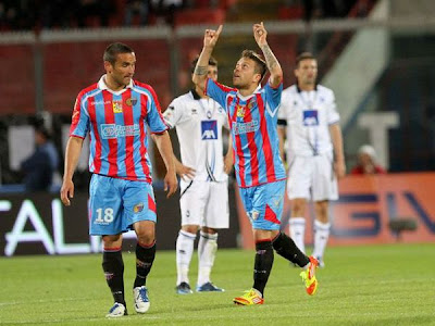 Catania Atalanta 2-0 highlights