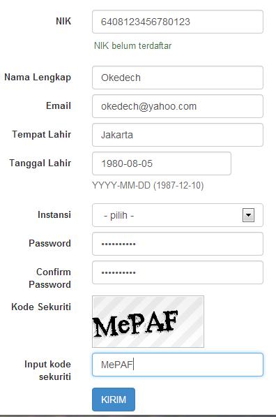 form pendaftaran cpns 2014 cara daftar cpns 2014 pertama kali di situs reg panselnas.go.id. alurpendaftaran cpns tips trik pendaftaran dan registrasi cpns 2014