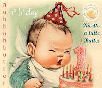 Ricette a tutto Butter-festeggiamo il 1° compleanno di buhbuhbutter