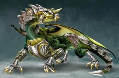 Armaduras de Dragon