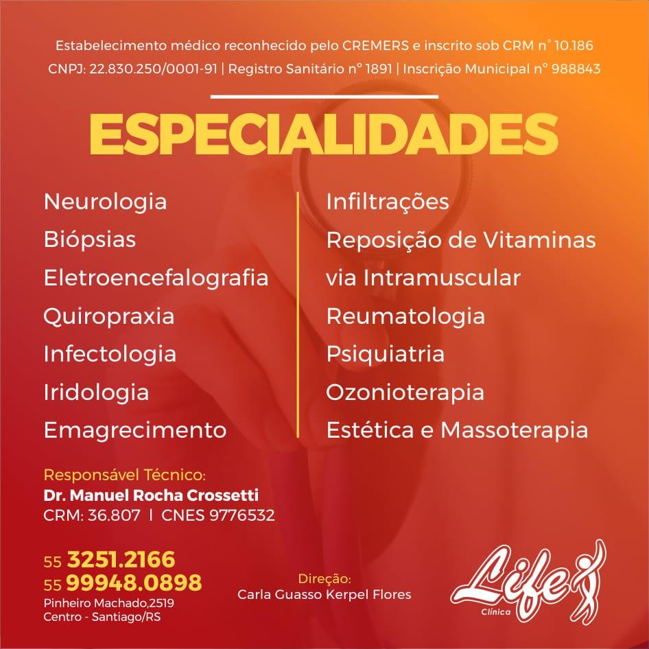 Life Clínica Médica e Estética em Santiago!