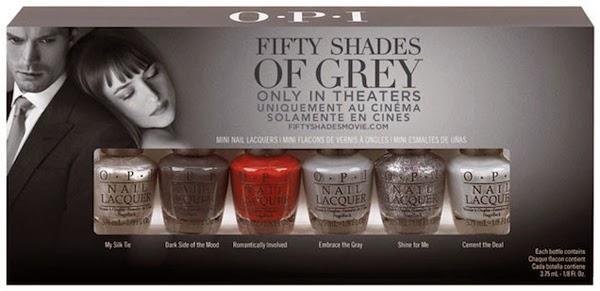 OPI Cincuenta sombras de Grey lacas de unas comprar