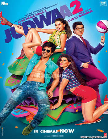 Watch Online Judwaa 2 2017 Full Movie Download HD Small Size 720P 700MB HEVC BRRip Via Resumable One Click Single Direct Links High Speed At exp3rto.com