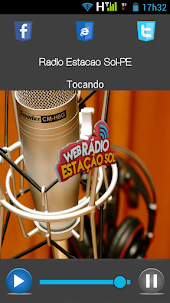 Aplicativo Radio Estacao Sol Web