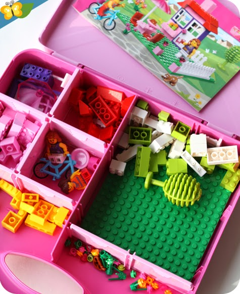 La valise de construction fille - LEGO Juniors® (easy to build) n°10660