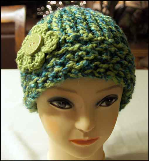 Altered Scrapbooking: Heathers Loom Knit Hat
