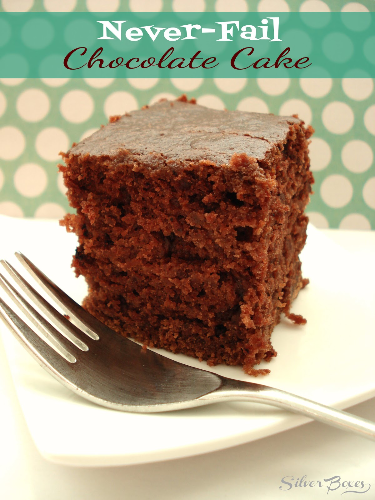 Chocolate Sheet Cake Made With Applesauce