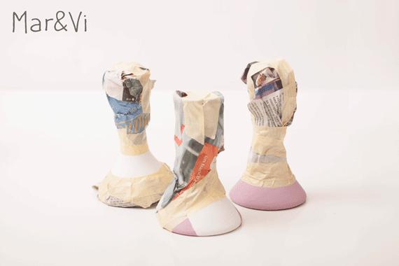 renovar figurillas de cerámica con pintura