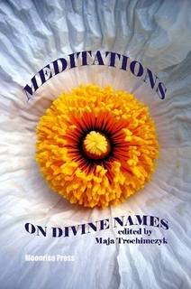 Cover of Meditations on Divine Names - Anthology of Poetry by Maja Trochimczyk, 2012
