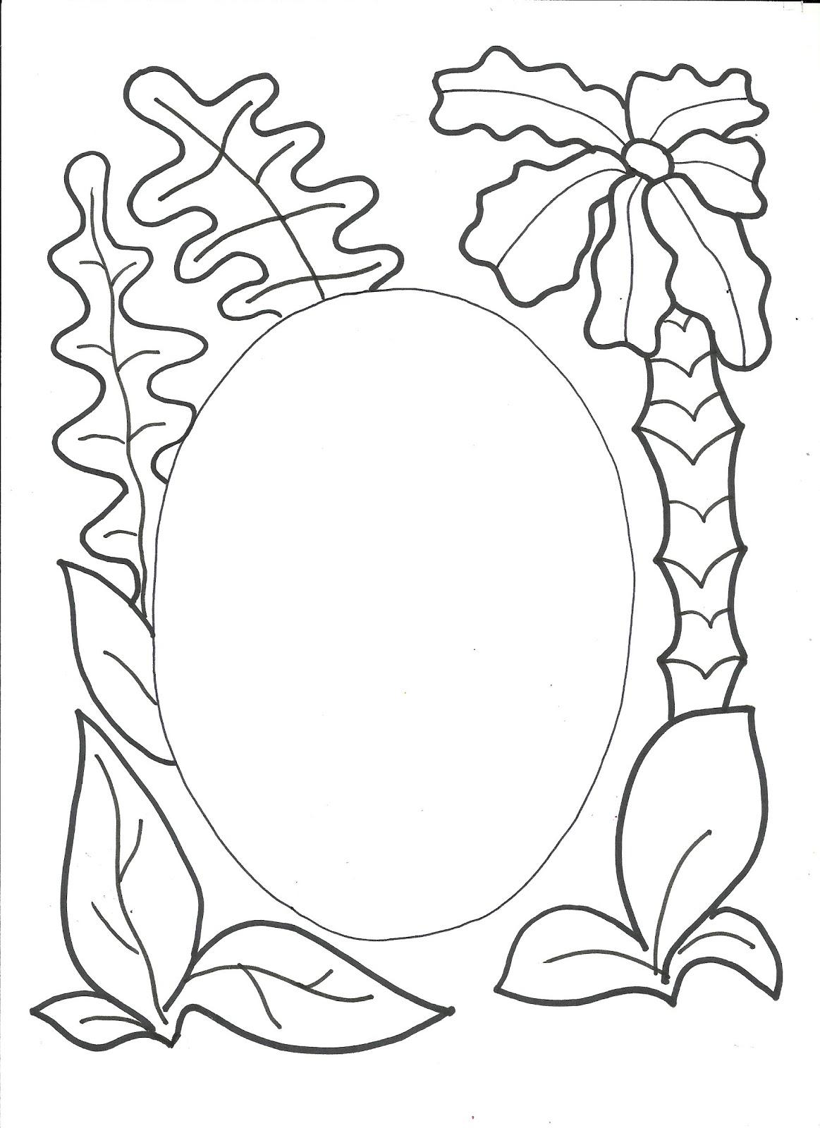 Caratulas pergaminos para colorear - Imagui