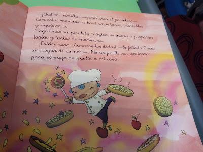 Cucas y el pastelero mágico