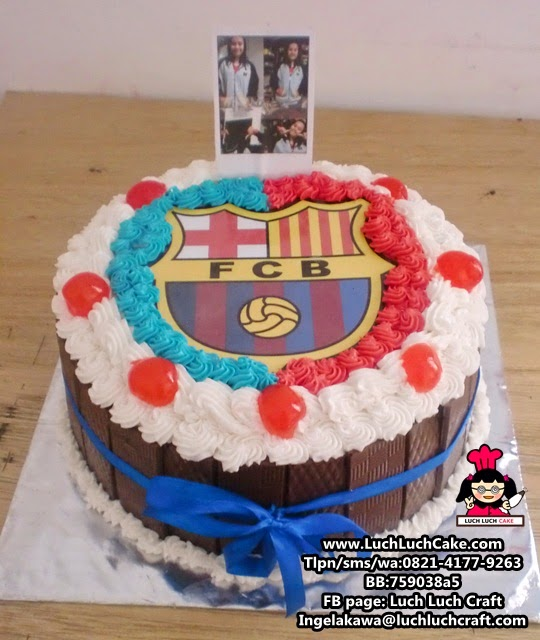 Kue Tart Barcelona Daerah Surabaya - Sidoarjo
