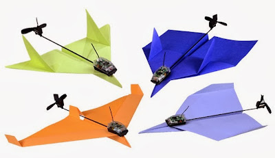 kickstar paper plane project
