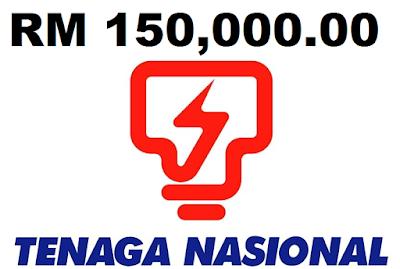 Awas Email Palsu RM150000 Dari TNB