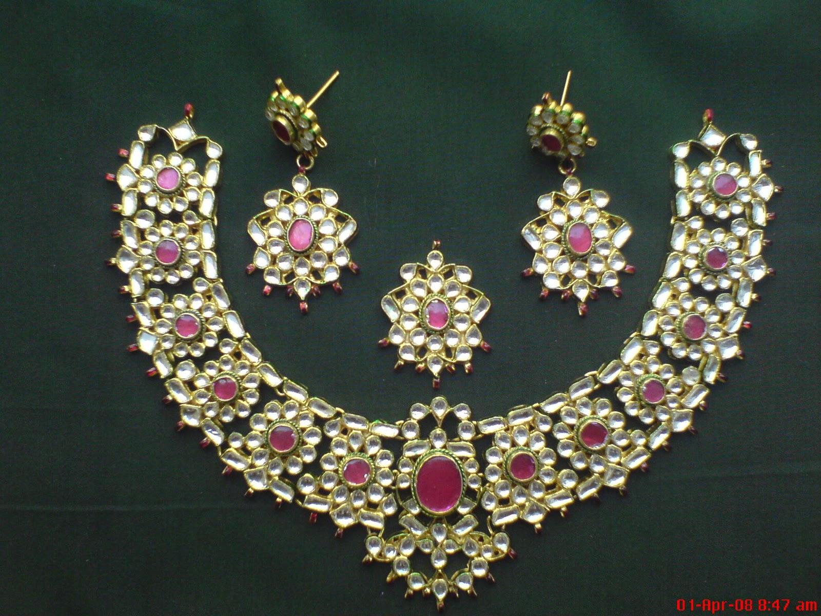 fashion klix kundan jewelry designs