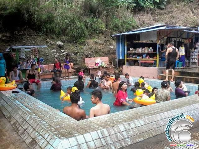 Kolam Suban Air Panas Curup Bengkulu